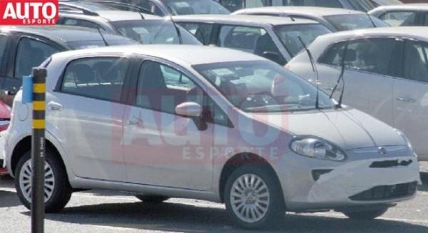 Nuevo Fiat Punto por las calles (2012 - 2013)