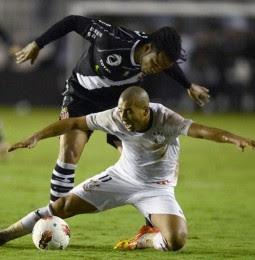 Corinthians venceu Vasco na libertadores 2012