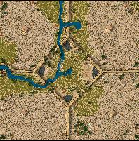 7 خرائط للعبة STRONGHOLD CRUSADER  Map