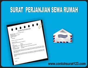Gambar Contoh Surat Perjanjian Sewa Rumah