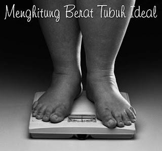 Cara menghitung berat badan yang ideal