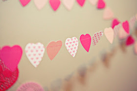 DIY-Paper Heart Garland Tutorial