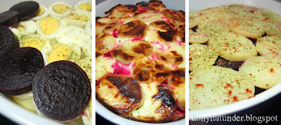 layered-potato-casserole-with-beetroot