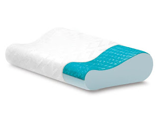Z Gel Infused Dough Memory Foam Contour Pillow With