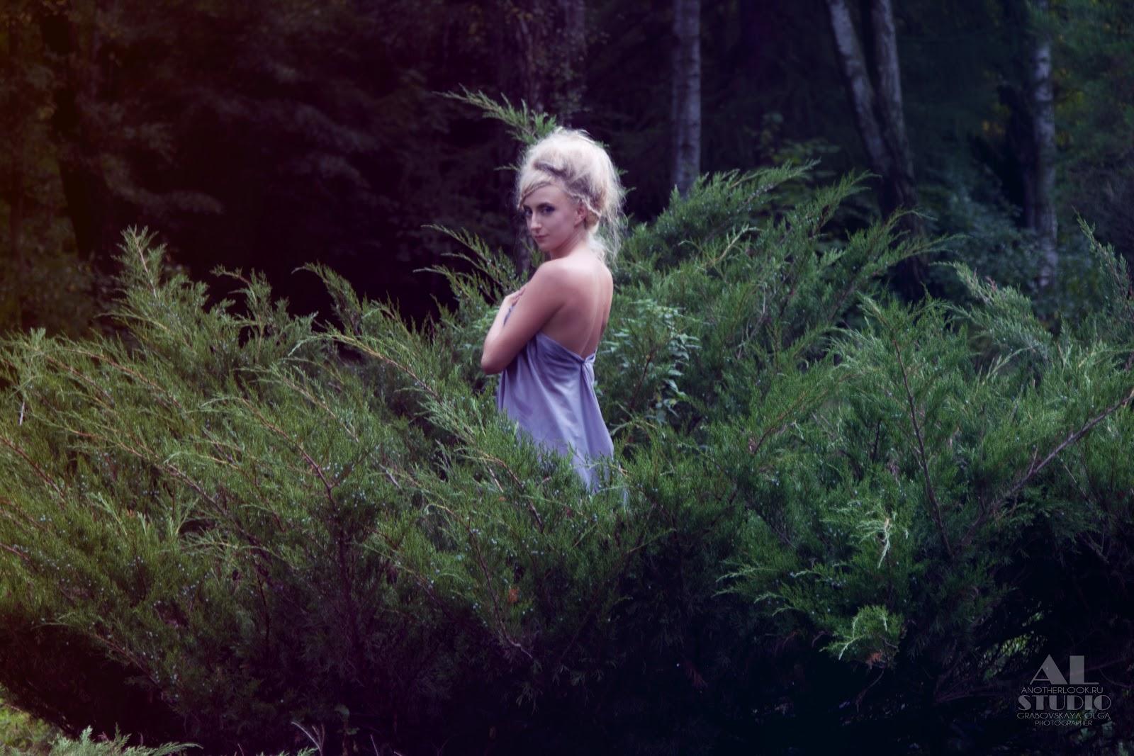 позы для в лесу