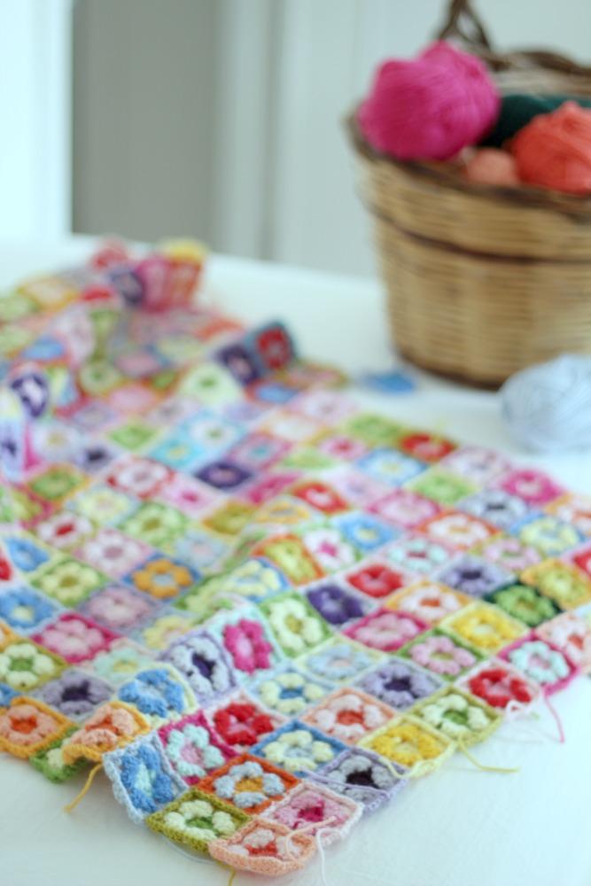 ti piace la mia granny square? cliccaci sopra per visualizzare il tutorial