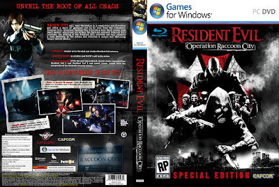 Resident Evil Operation Raccoon City PC DVD Capa