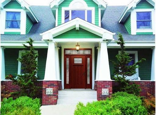 skema warna eksterior rumah