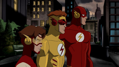 Flash, Kid Flash e Impulso