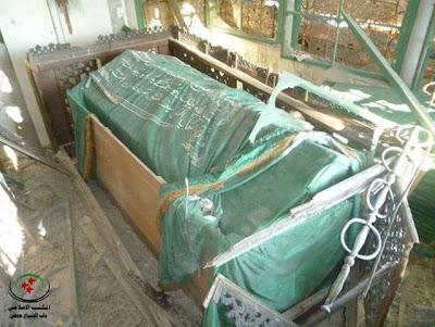 Gambar Makam Khalid al-Walid r.a Di musnahkan oleh Pengikut Syiah