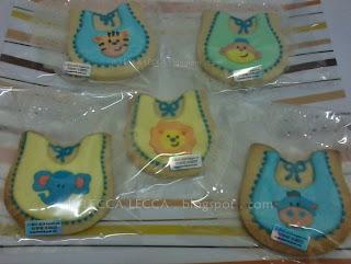 Fancy cookies aqiqah cukur jambul baby bip cute animal face