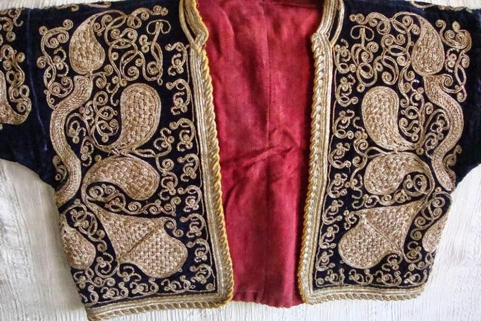 armut modelli cepken,havran cepkeni,osmanlı cepkeni,cepken,antika cepken,balıkesir cepkeni,antika el işlemeleri