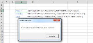 VBA: ¿Existe la ruta de archivo de mi función HIPERVINCULO?. La función VBA DIR.