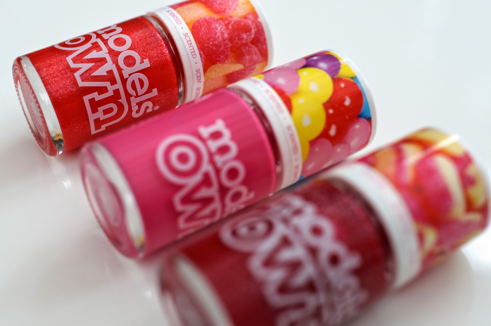 models own scratch and sniff nail polishes sweet