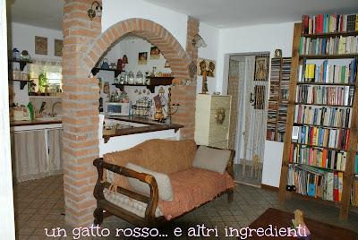 Un gatto rosso e altri ingredienti ristrutturazione la camera da letto - Arco per dividere soggiorno e cucina ...