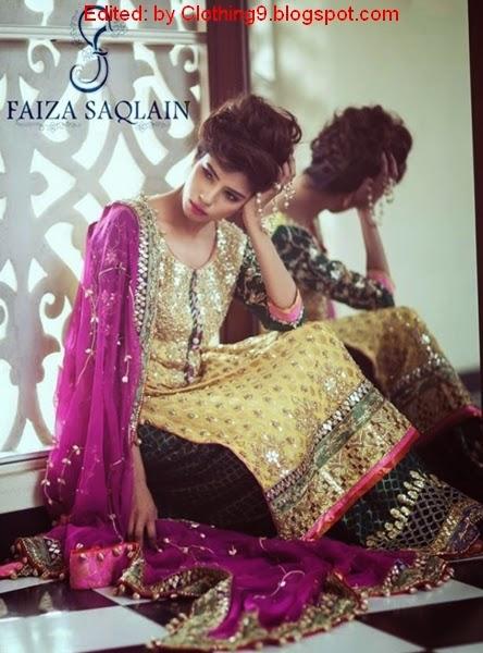Faiza Saqlain Bridal Dresses 2015-16