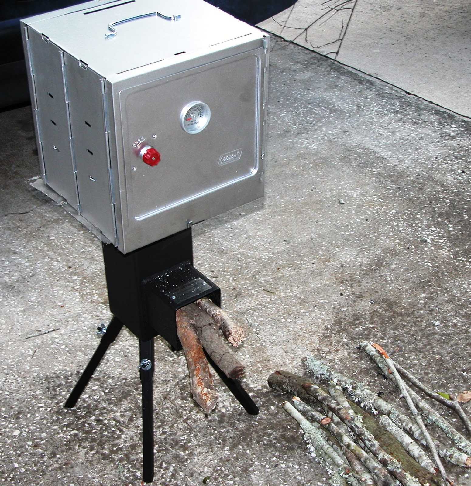 Living prepared march 2013 for Portable rocket stove plans