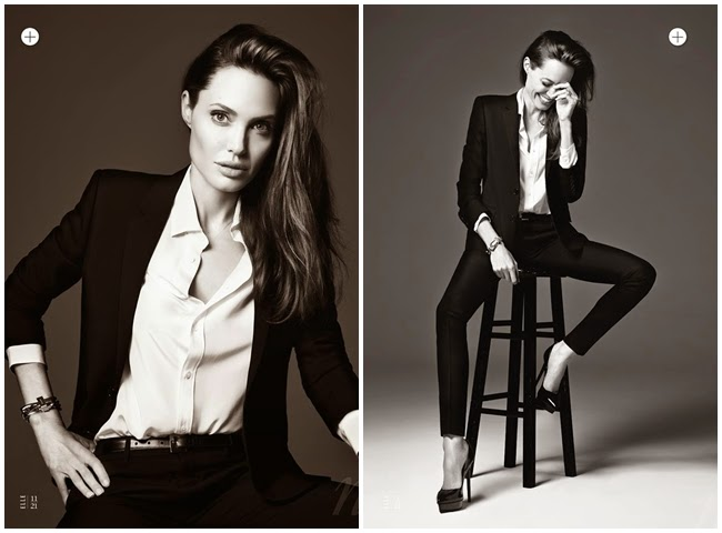 cf. Ralph Lauren Spring 2014 B&W Plaid Suit