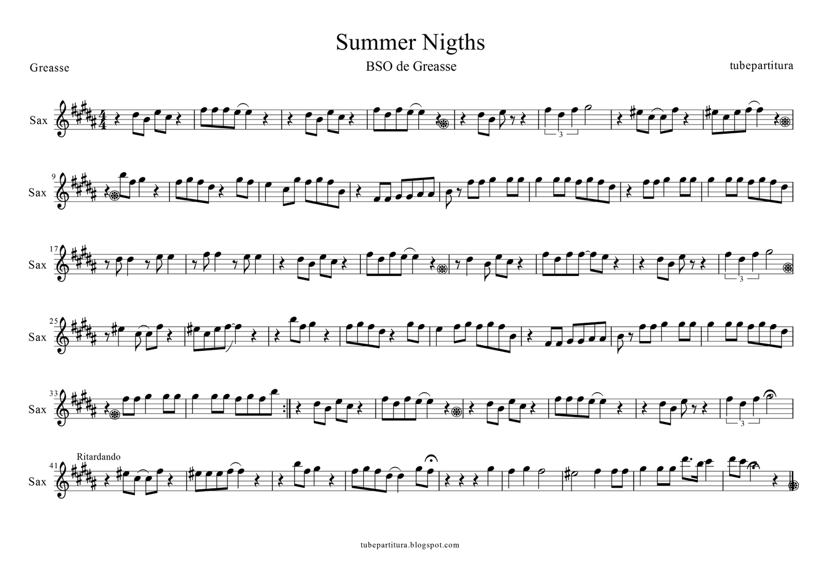 Tubescore December 2014