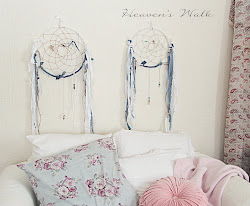 my shabby romantic dream catchers