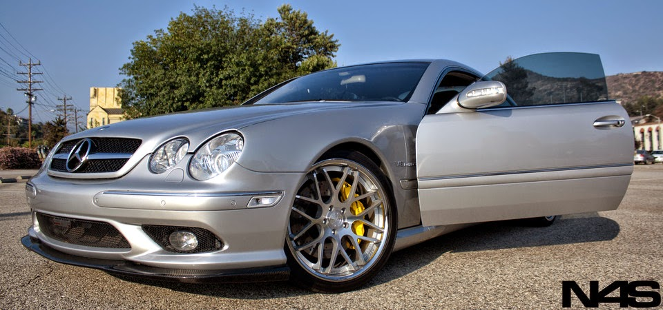 mercedes benz cl55 amg c215 on vertini concave magic. Black Bedroom Furniture Sets. Home Design Ideas