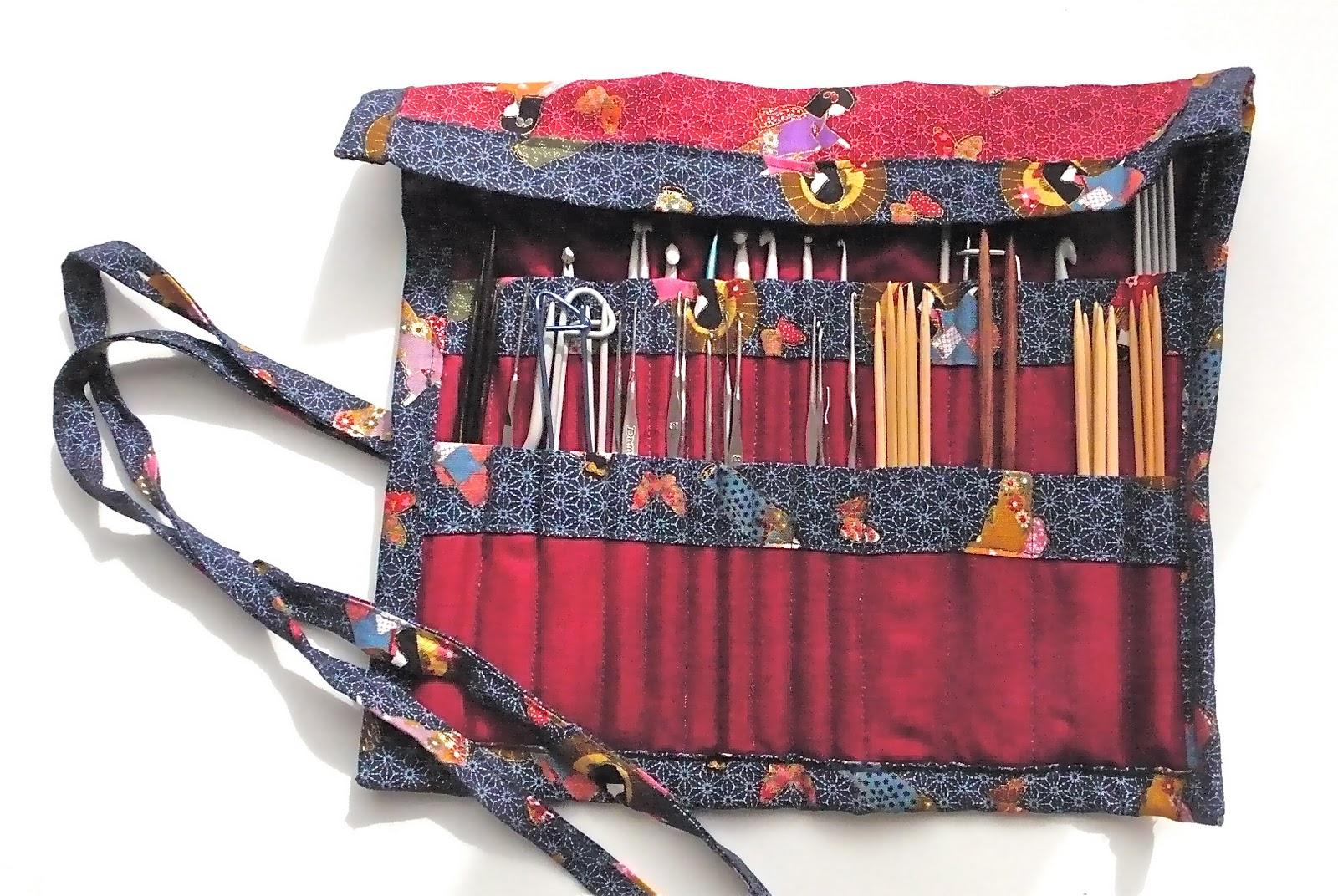 Parchita y cotoper knitting needle case - Puntos para calcetar ...