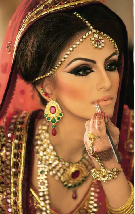 Blue bollywood makeup bollywood bridal makeup a