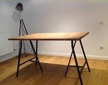 C mo hacer una mesa con tablones y efecto desgastado diy for Como decorar una mesa de madera vieja