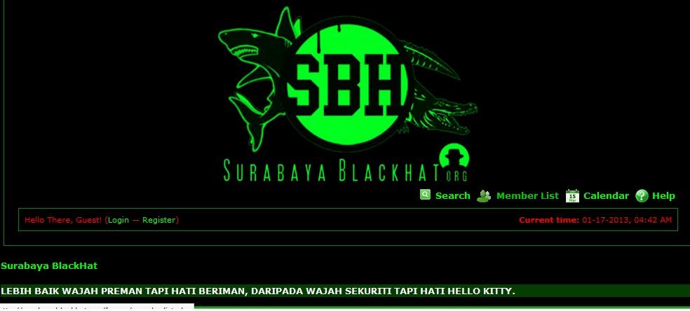 Hasil gambar untuk surabaya Black Hat