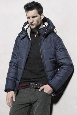 chaquetas acolchadas para hombre