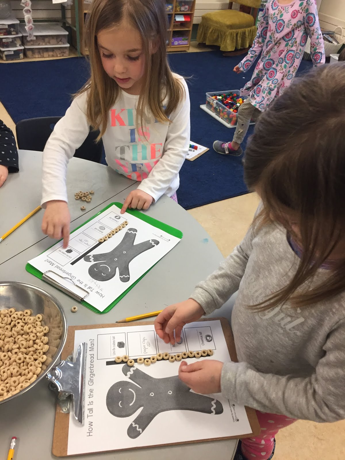 Measuring with Cheerio's