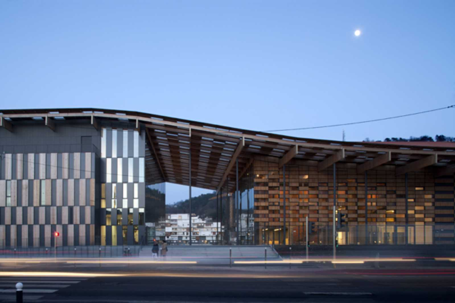 art center and cit de la musique by kengo kuma