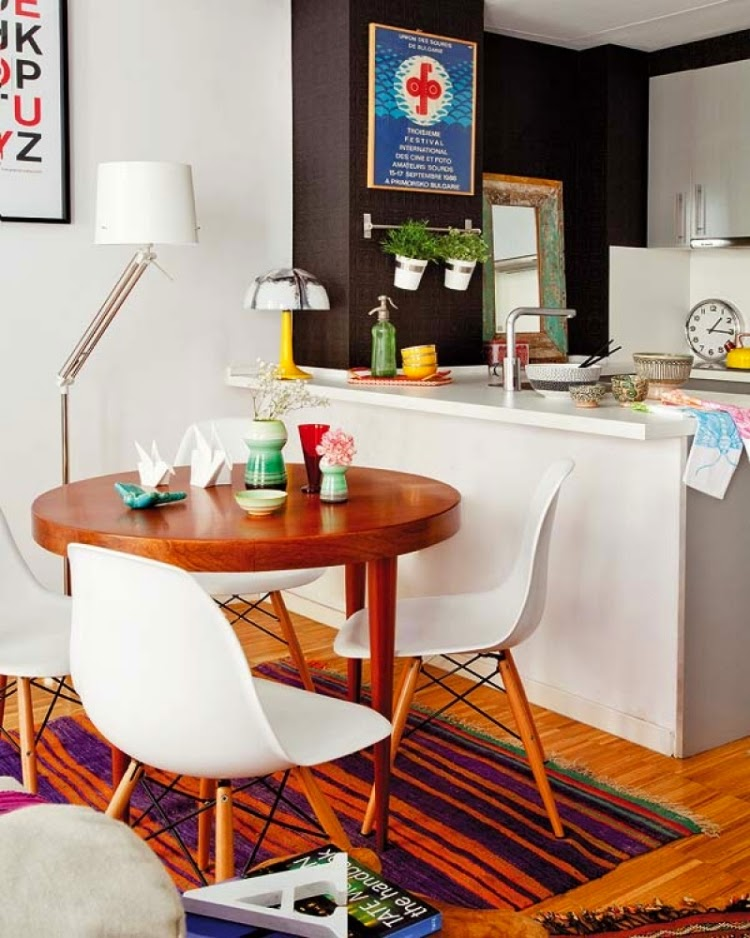 Cocinas con comedores de diario colores en casa - Cocina y comedor ...
