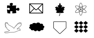 الأشكال المختلفة