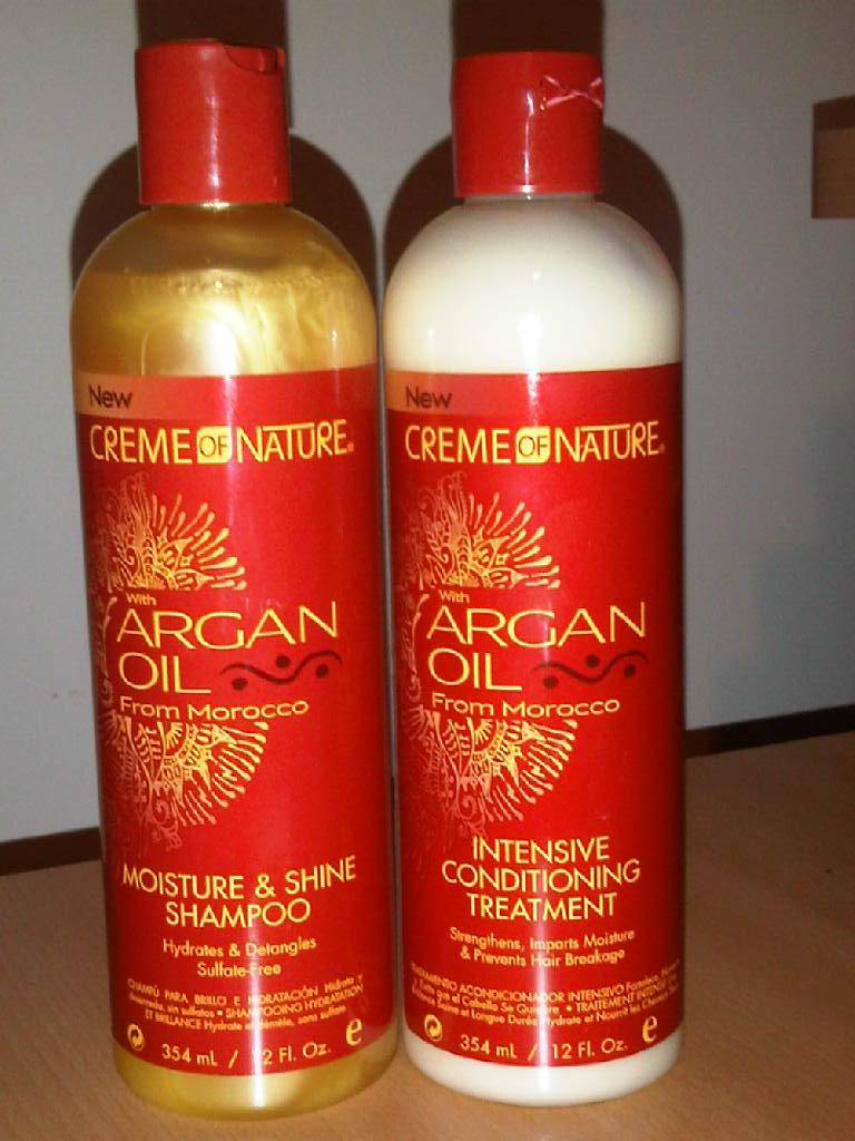 Creme Of Nature Argan Oil Deep Conditioner Ingredients