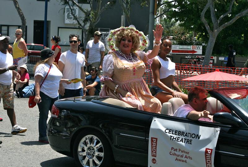 LA Pride Parade drag 2012