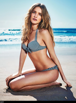 Natalia Vodianova sexy body for Etam swimwear model