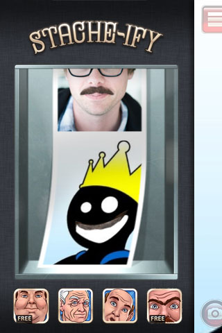 Stacheify Free App Game By Apptly