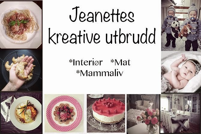 Jeanettes kreative utbrudd