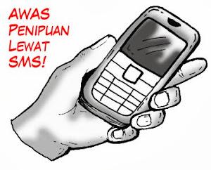 modus penipuan via sms dan website