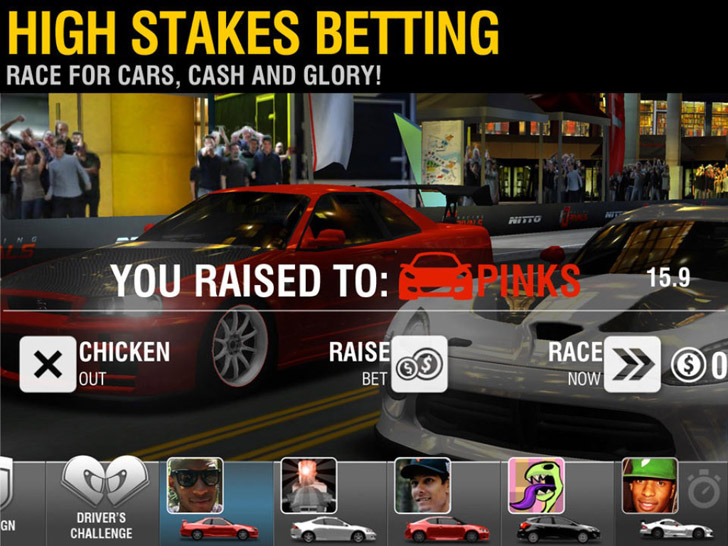 Racing Rivals App By Cie Games