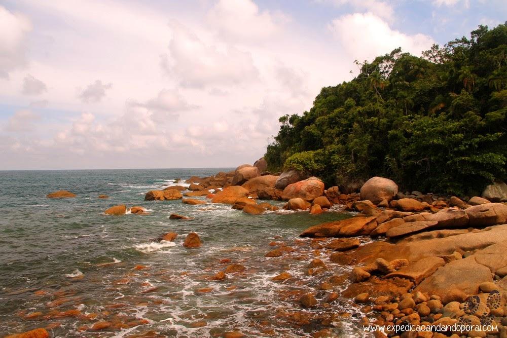 Chegando em Martim de Sá, Travessia da Joatinga