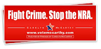 Free Fight Crime. Stop the NRA sticker