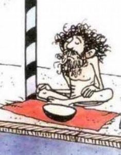 indian beggar cartoon