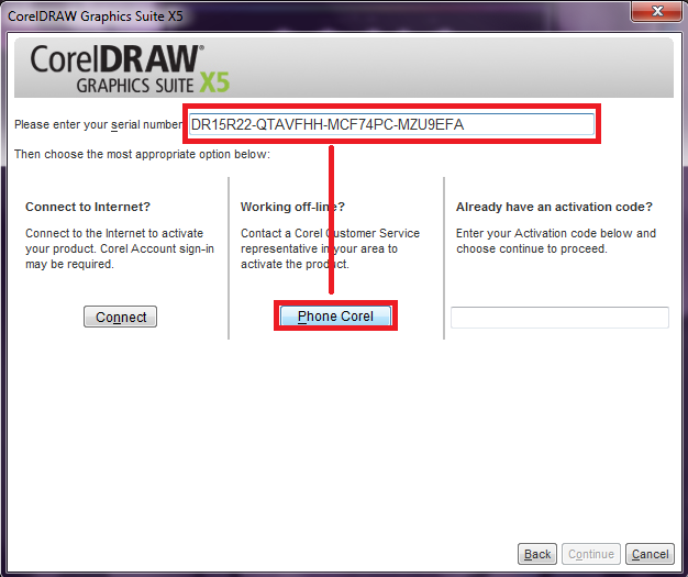 corel draw x5  crack & serial