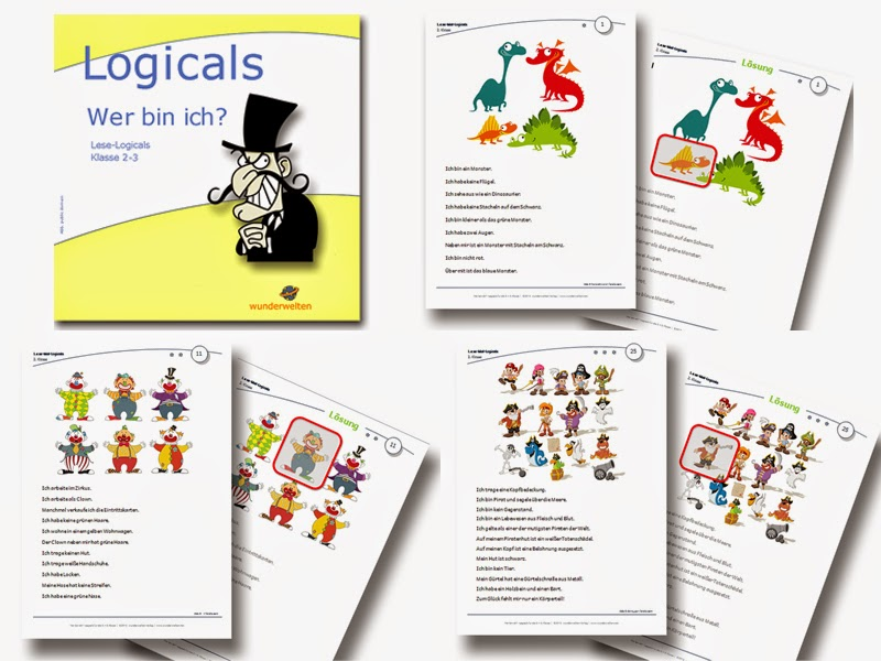Logicals Grundschule Klasse 2-3 kostenlos
