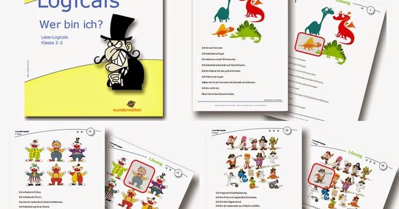 Grundschulmaterial fu00fcr den Offenen Unterricht: Logicals Grundschule Klasse 2-3 ...