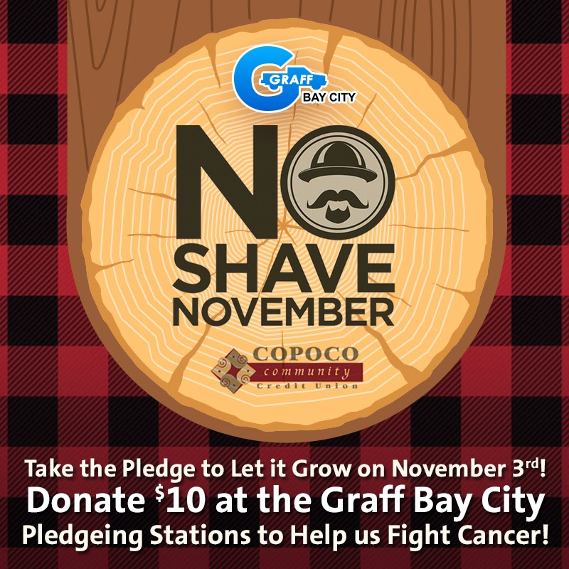 No Shave November for Cancer Awareness at Graff Bay City