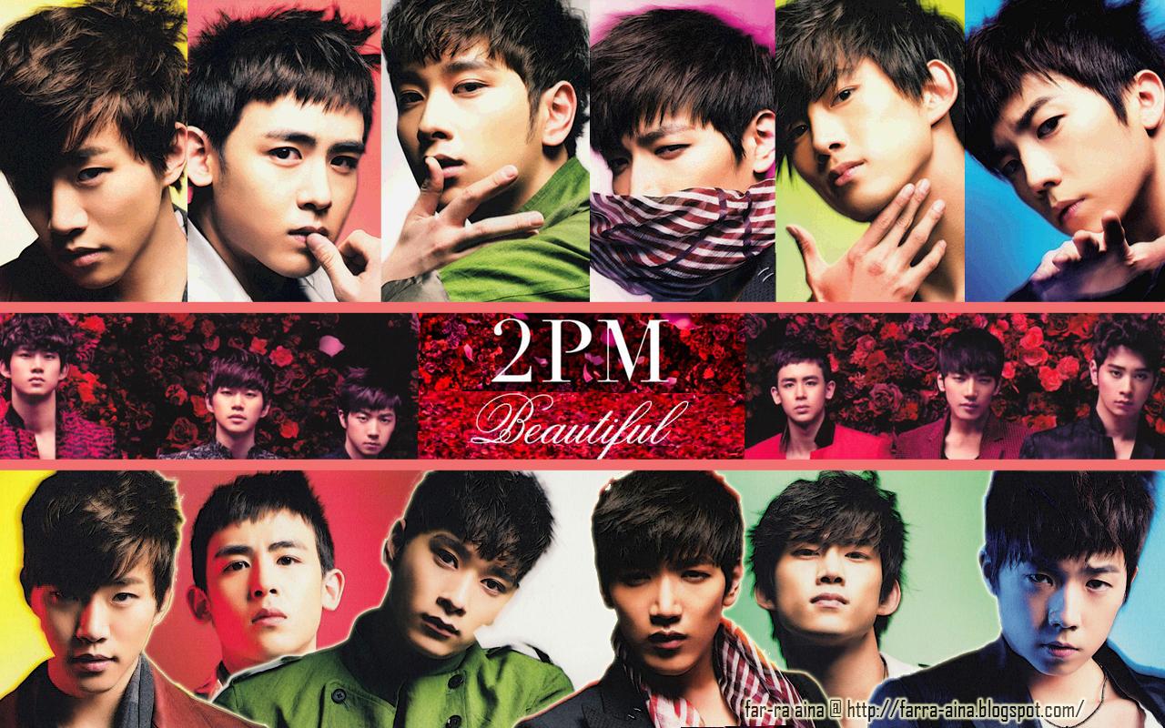 pop lover ^^: 2PM  Beautiful WALLPAPER