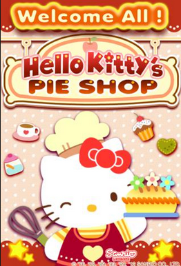 Gambar Hello Kitty Memasak Cooking Games Pie Shop
